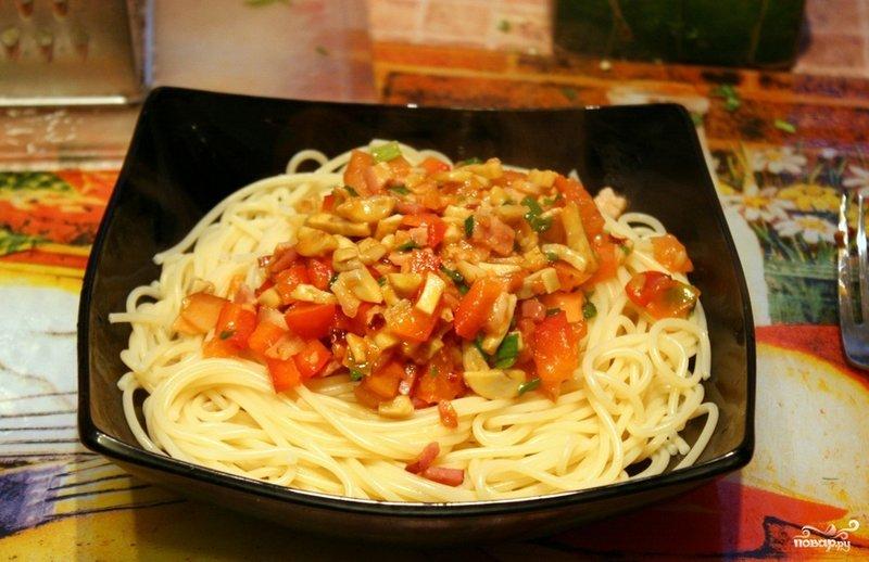 Простой вкусный соус к макаронам