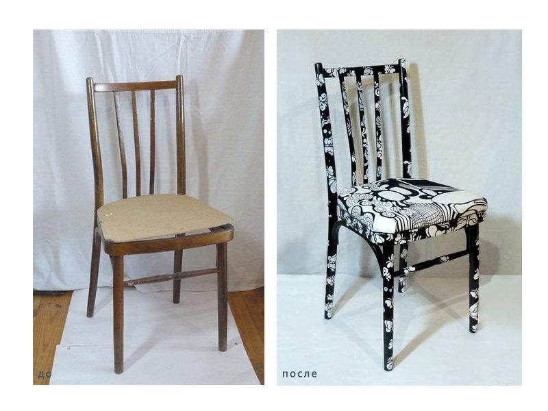 Декор старых стульев своими руками