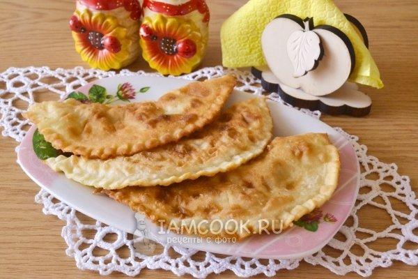Чебуреки с сыром на кефире рецепт с пошаговый