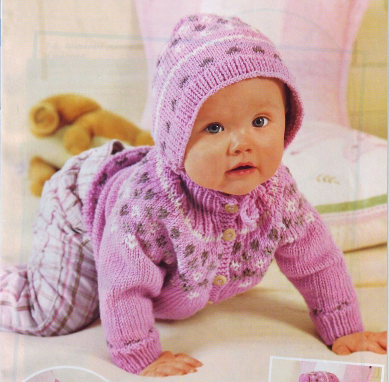 Клубокру вязание спицами для детей до года 29