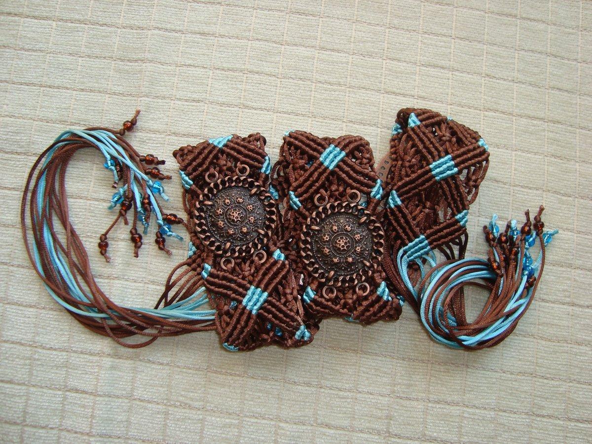 Плетёный ремень своими руками