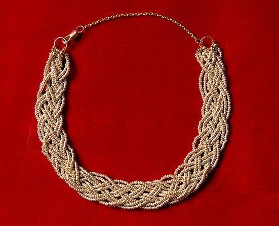 Мастер-класс ожерелья из бисера