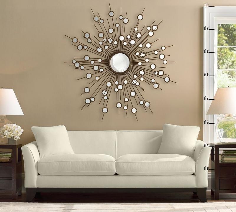 Декор настенных зеркал своими руками 79