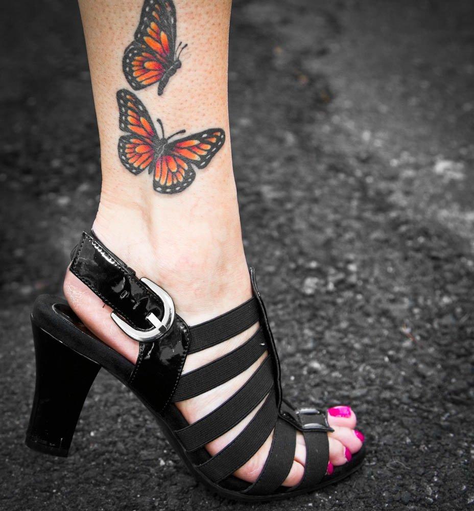 Татуировки на лодыжках фото