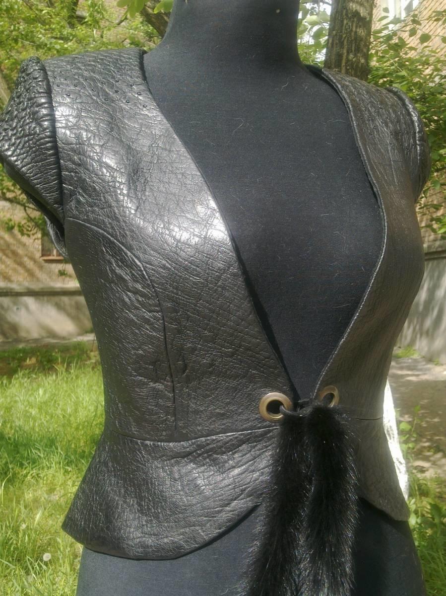 Из пиджака сшить жилет