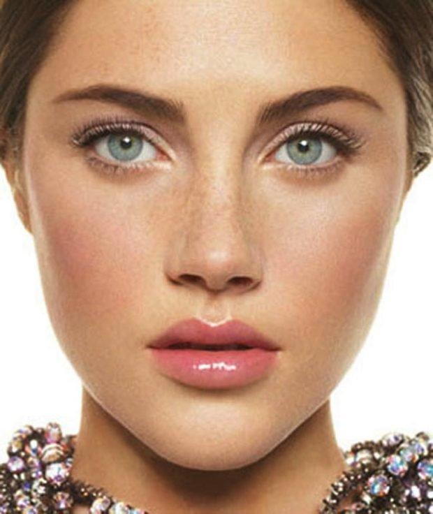 Естественный макияж нюд