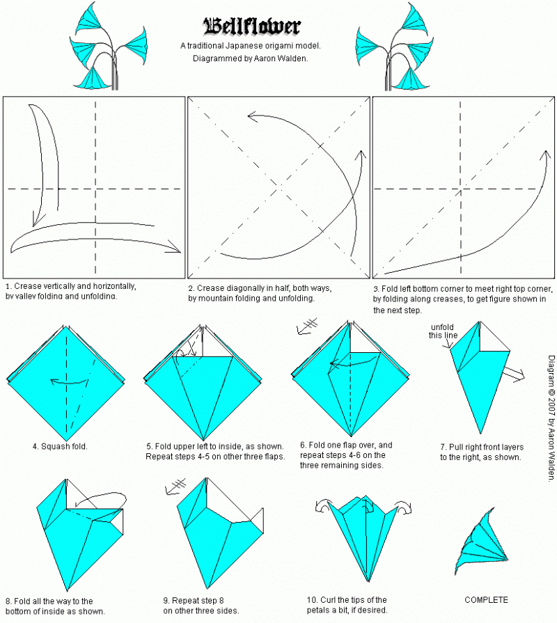 Цветок оригами из бумаги своими руками схемы поэтапно