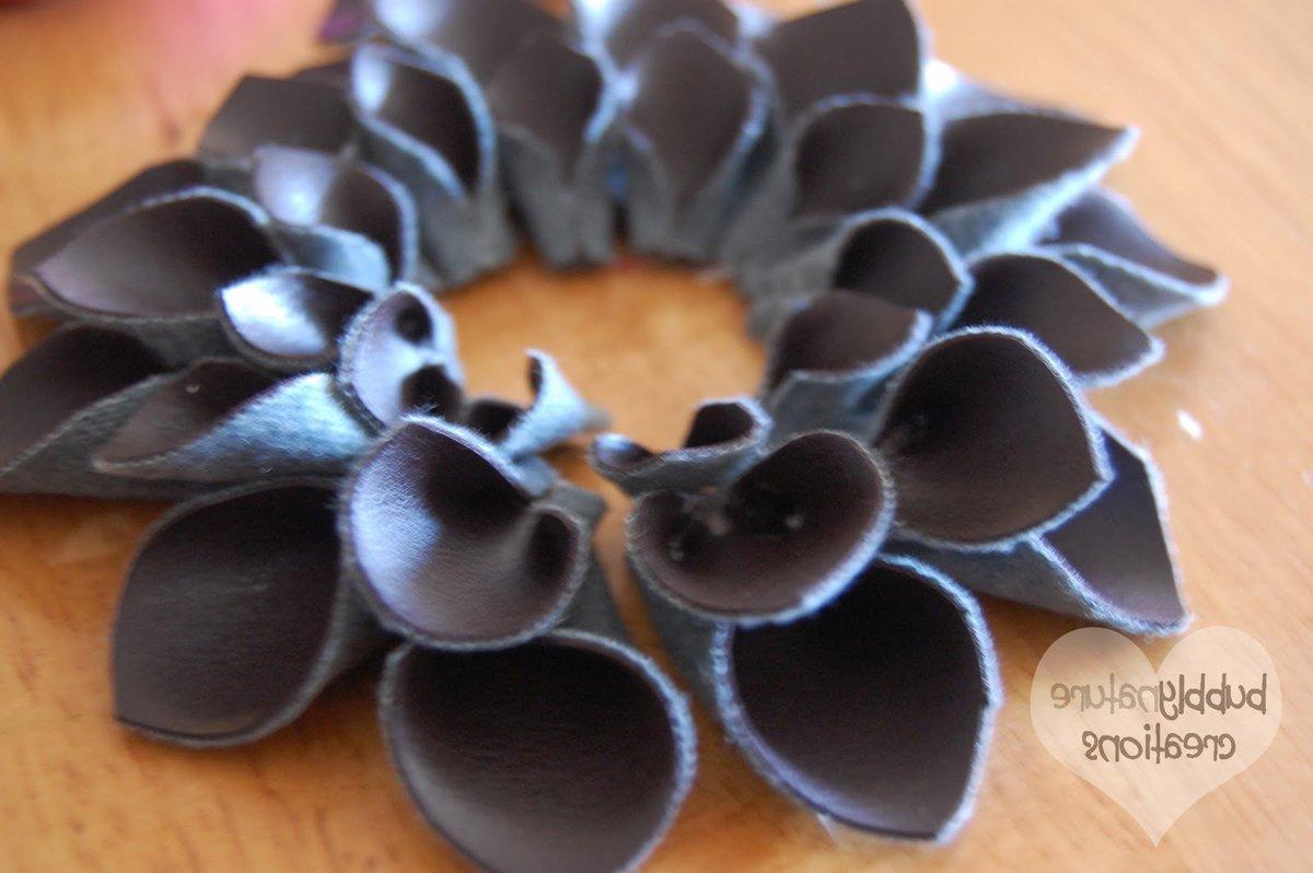 Как делать цветы из кожи своими руками мастер класс 7