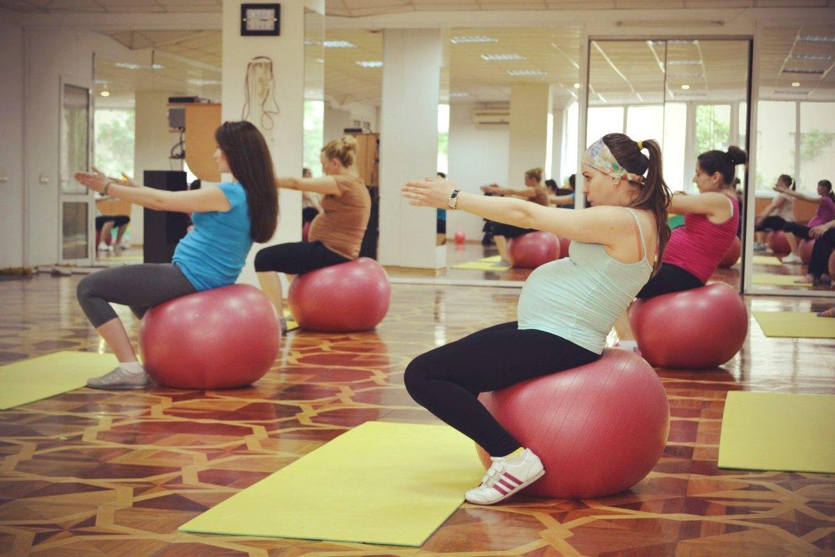 Фитнес для беременных в ярославле 83