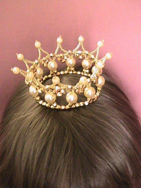 Корона для девочек своими руками