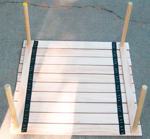 Разборные столы для пикника своими руками 77