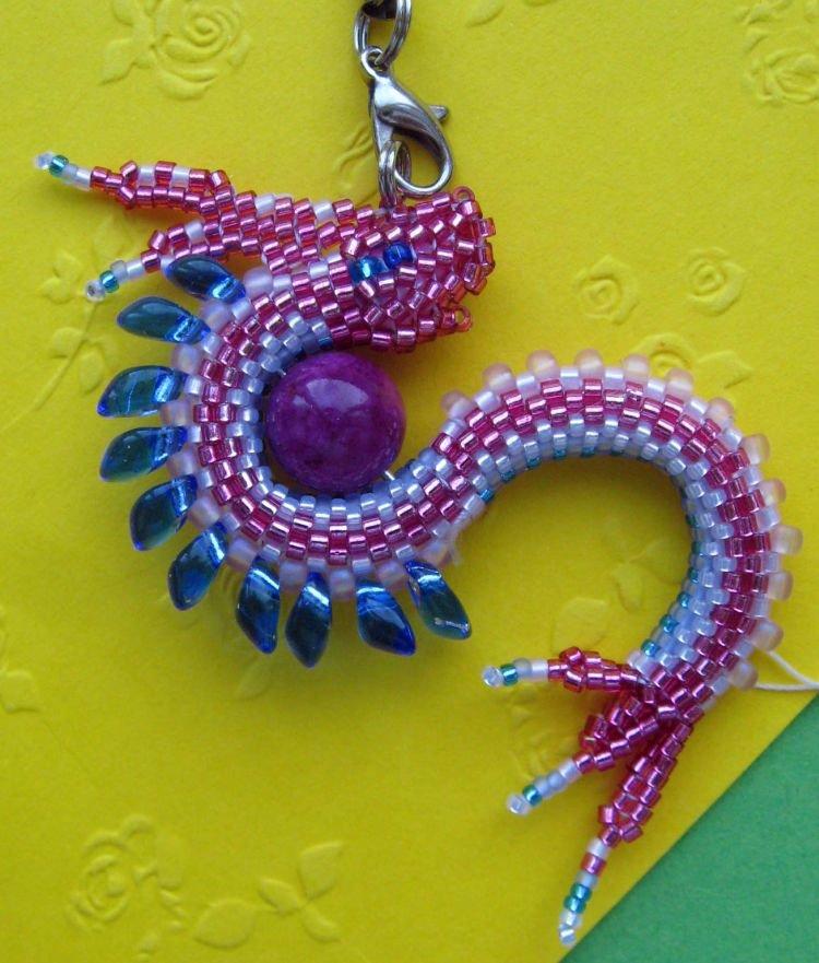 Бисер своими руками дракон 7