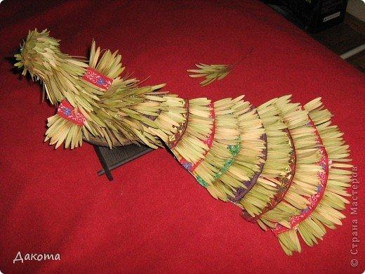 Поделки птицы из природного материала своими руками