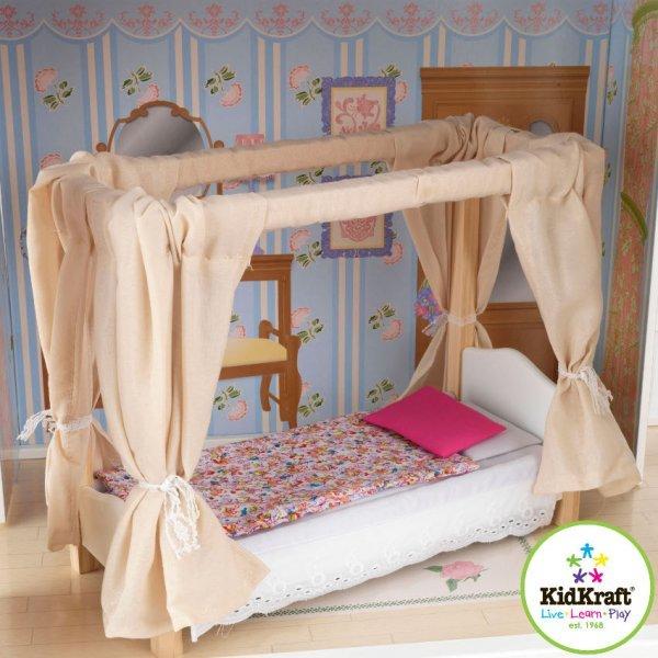 Как сделать кровать своими руками для куклы барби
