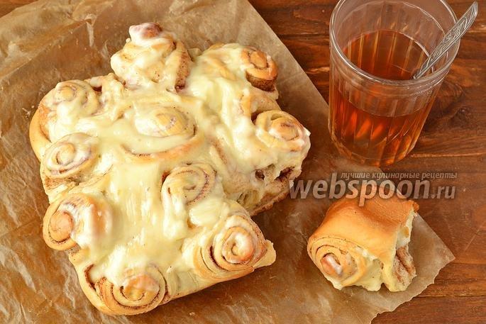 Фото пошаговое рецепт булочки синабоне