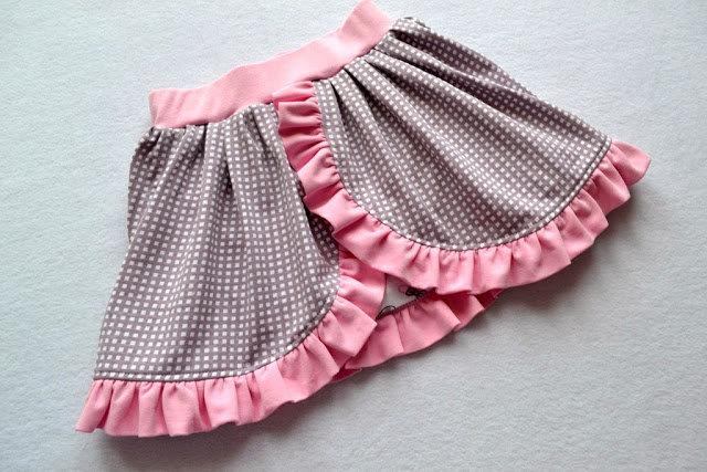 Красивая юбочка для девочки сшить