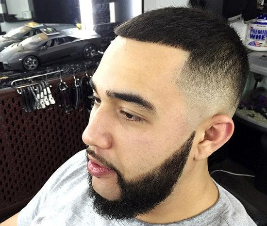 Причёска цезарь мужская