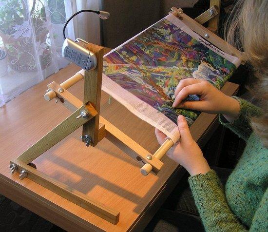 Вышивка крестом станок для вышивания 62