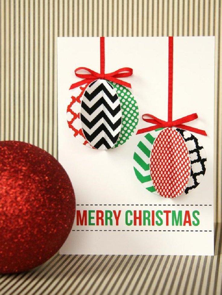 Новогодние открытки своими руками оригинальные