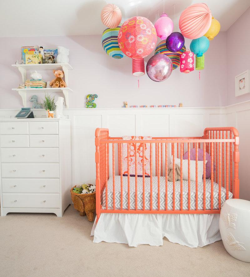 Как своими руками украсить комнату новорожденной