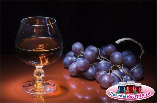 Как сделать коньяк из винограда в домашних
