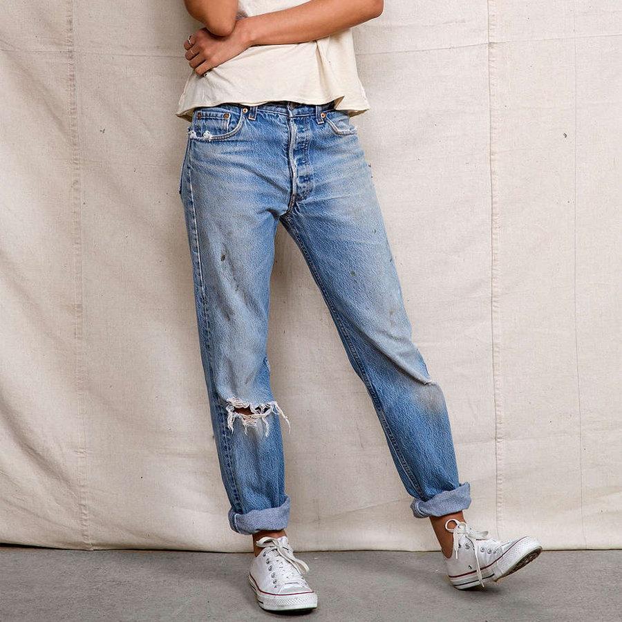 Модные женские джинсы бойфренды-2017: фото стильных 82