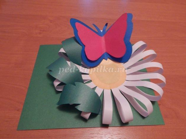 Объемная поделка из бумаги для детей 4-5 лет 96
