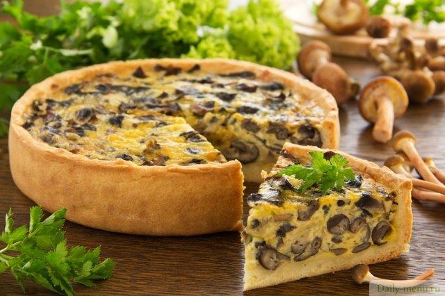 Пирог с опятами рецепты с