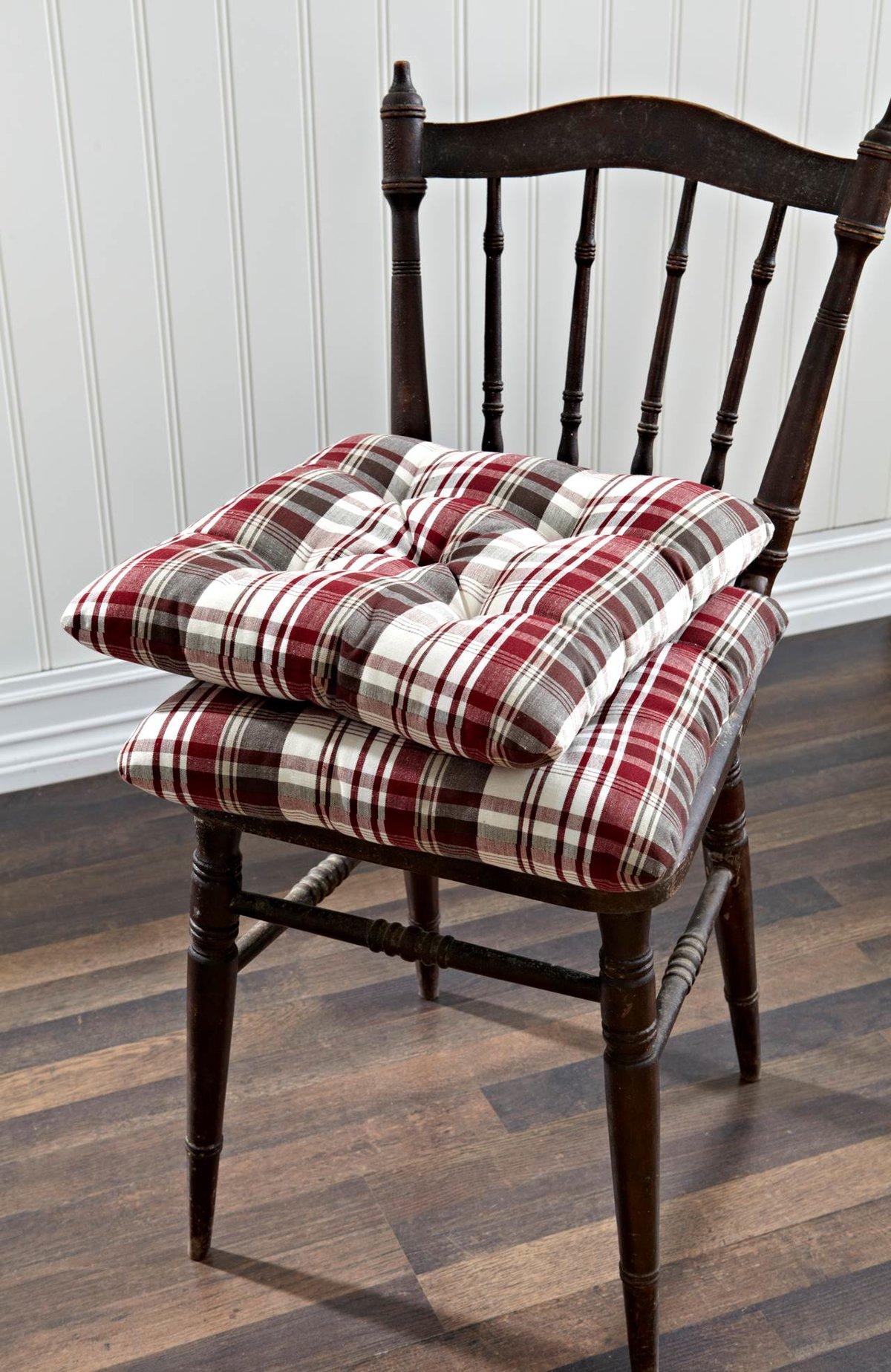 Подушки на стулья сшить фото