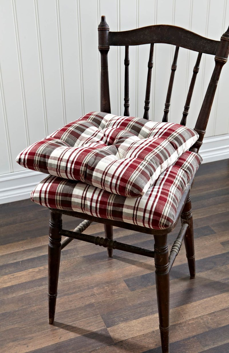 Подушки для стульев своими руками