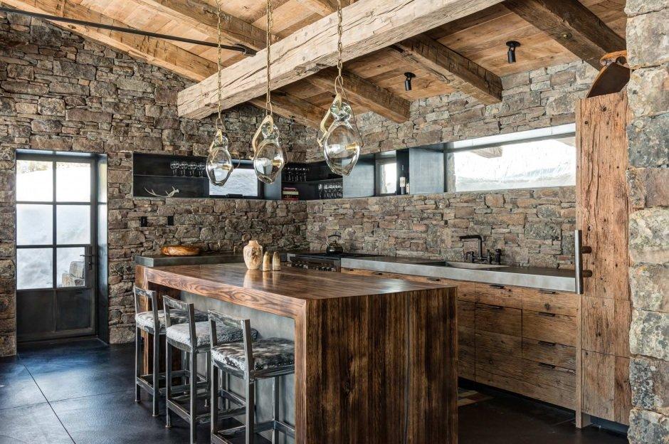 Кухонная мебель в стиле лофт своими руками 92