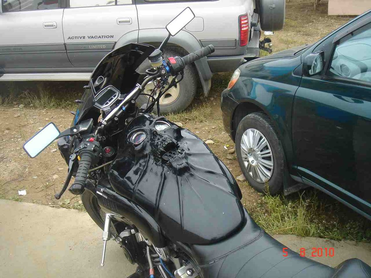 Мотоцикл топливный бак своими руками