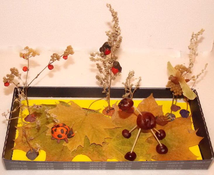 Поделки осенний лес детский сад