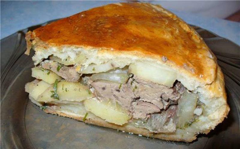 Приготовить курник с курицей и картошкой пошаговый рецепт