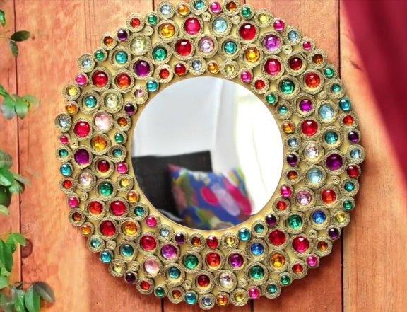 Декор своими руками зеркало