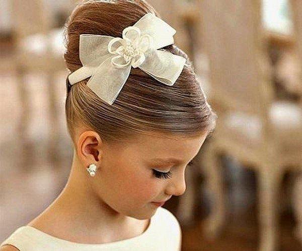 Причёски на свадьбу детям своими руками 24