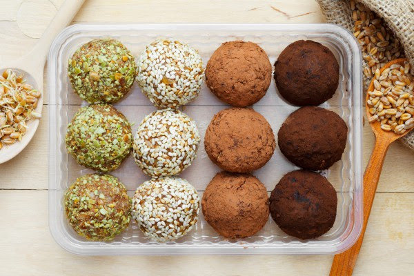 Конфеты из сухофруктов и орехов с фото