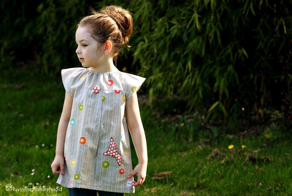 Детские платья сшить самим быстро и просто. Часть 1 20