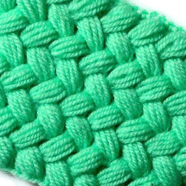 Связать плетенку крючком