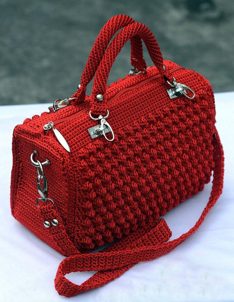 Связать красивейшую сумку