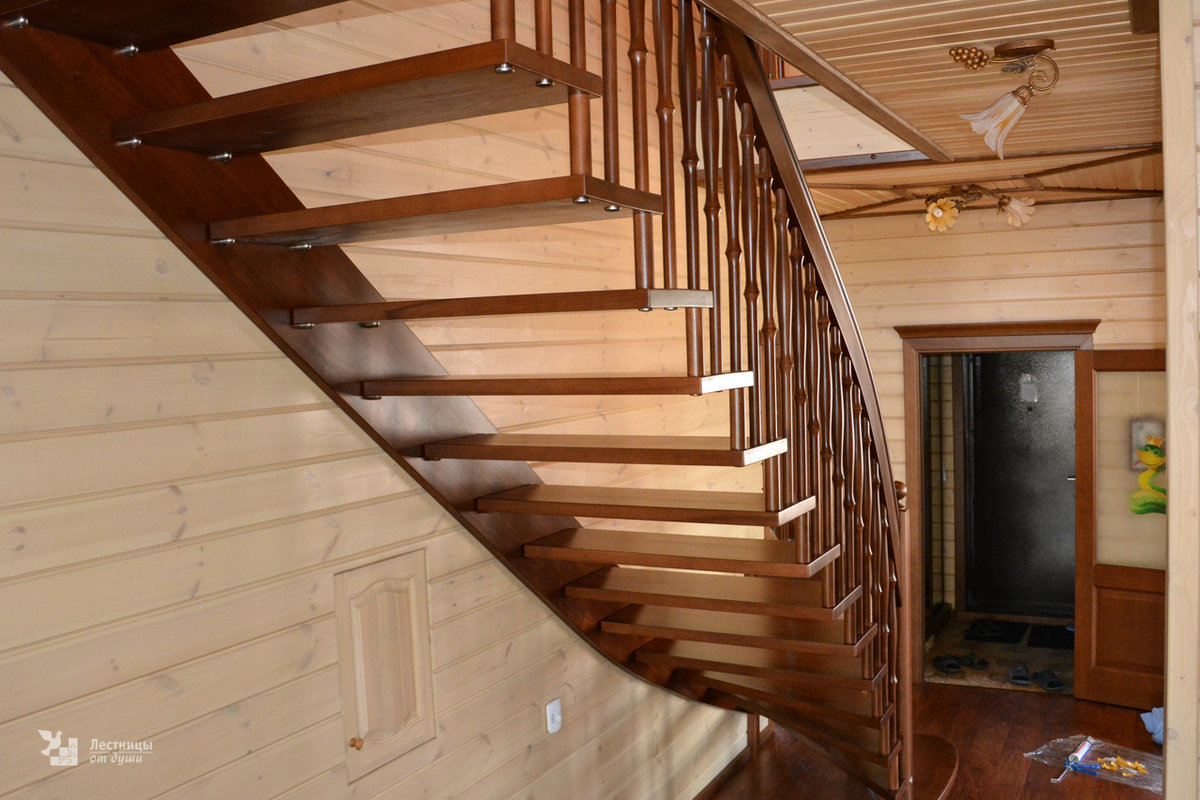 Лестницы своими руками на второй этаж фото в частный дом