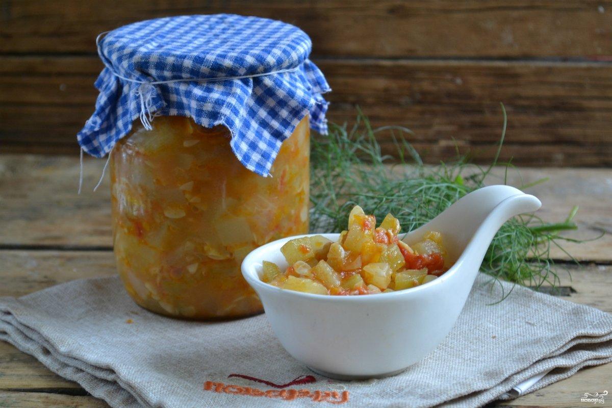 Вкусная кабачковая икра на зиму рецепты пошагово