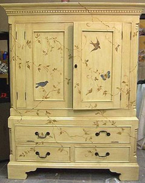 Реставрация старый шкаф своими руками