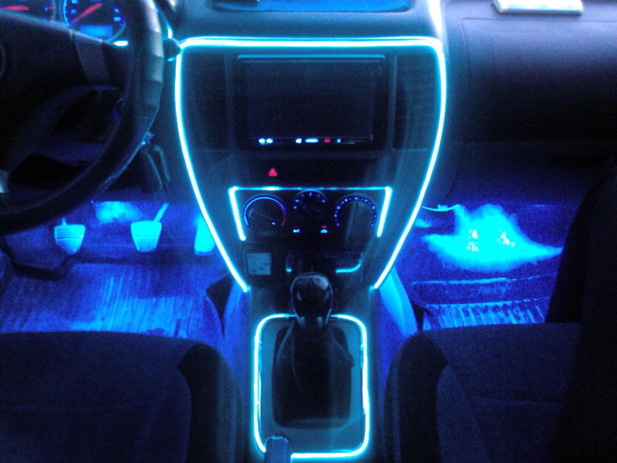 Светодиодная подсветка на автомобиль своими руками 57