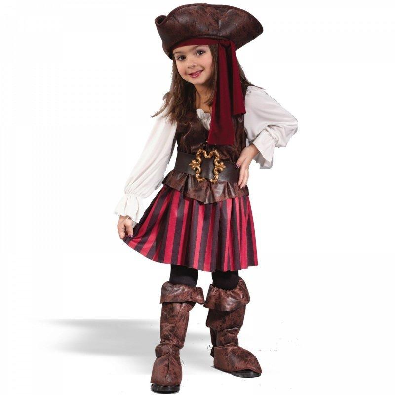 Костюмы пиратки для девочки своими руками 17