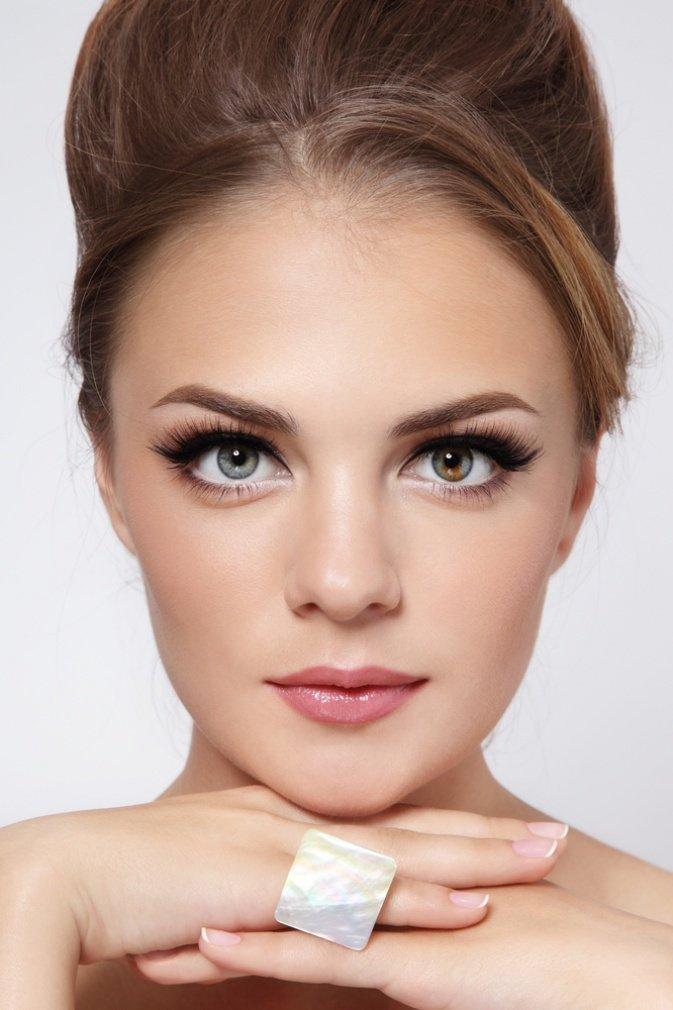 Фото макияжа в пастельных тонах