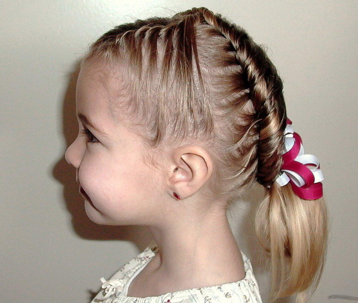 Простые прически маленькой девочке на короткие волосы