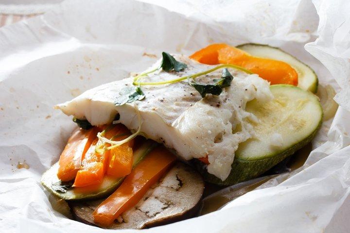 Треска запеченная в духовке рецепты с овощами и