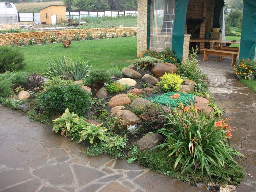 Как сделать красивый сад у себя на  584