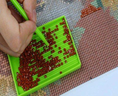 Как сделать алмазную вышивку самому в домашних условиях 90